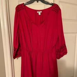 Old Navy Ruched Dress